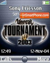 UT2003 es el tema de pantalla