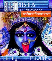 Maa Kali theme screenshot