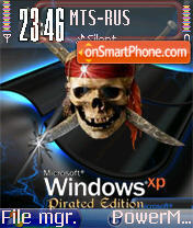 Win XP Pirated es el tema de pantalla