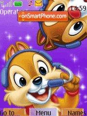 Chip And Dale theme screenshot