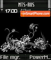 B&W L'Amour S60v2 theme screenshot