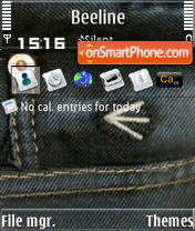 Energie S60v3 theme screenshot
