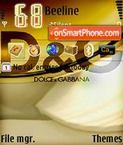 Скриншот темы D&G