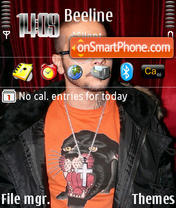 Timati theme screenshot