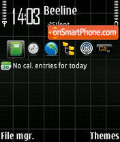 Screen theme screenshot