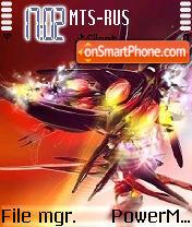 Razer theme screenshot