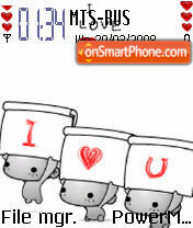Animated I Love U 02 es el tema de pantalla