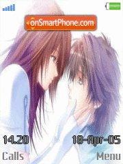 Anime Love Kiss es el tema de pantalla