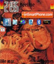 Скриншот темы Wild Honey
