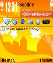 Spring QVGA theme screenshot