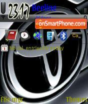 Скриншот темы Toyota Forever