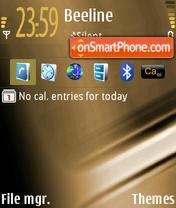 Mechanic theme screenshot