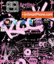 Rock Princess theme screenshot