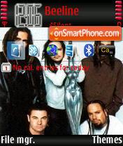 Korn Theme-Screenshot