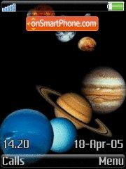 8 Planets theme screenshot