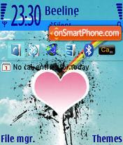 Valentain theme screenshot