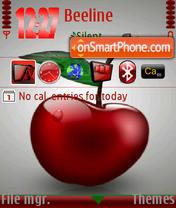 Скриншот темы Cherry 06