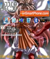Dragon Ball Z 01 theme screenshot
