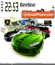 Nfs Pro Street3 theme screenshot
