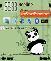 Panda 03 es el tema de pantalla