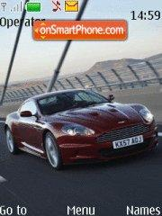 Aston Martin tema screenshot