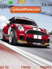 Mini Cooper tema screenshot