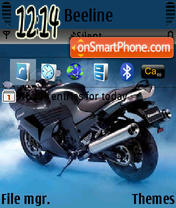 Capture d'écran Kawasaki thème