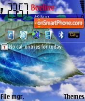 Скриншот темы Nebesa