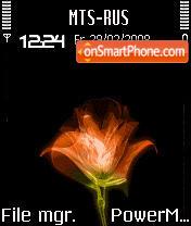 Animated Rose S60v2 theme screenshot