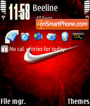 NIkeRED theme screenshot