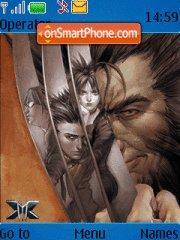 X-men theme screenshot