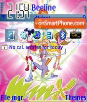 Winxclub theme screenshot