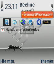 Spider 02 theme screenshot