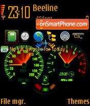 Скриншот темы Speed 03
