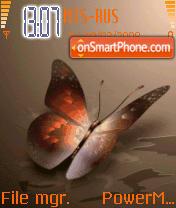 Animated Butterfly es el tema de pantalla