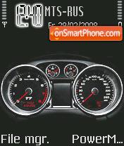 Tt Speedometer es el tema de pantalla