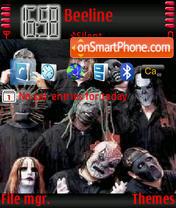 Slipknot1 es el tema de pantalla
