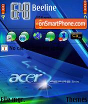 Acer es el tema de pantalla