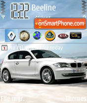 BMW V1 theme screenshot