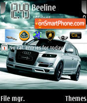 Скриншот темы Audi Q7