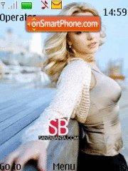 Britney 09 Theme-Screenshot