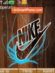 Nike Abstract theme screenshot