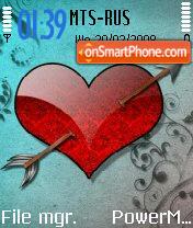 My Heart Animated theme screenshot
