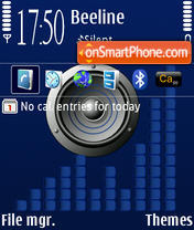 Music Default theme screenshot
