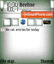Скриншот темы Mini