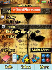 Black Rose theme screenshot