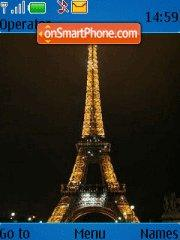 Paris Night tema screenshot