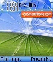 Steklo theme screenshot