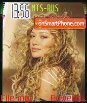 Hilary Duff v2 es el tema de pantalla