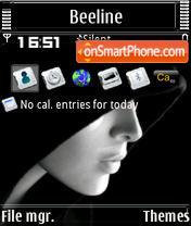 Covered S60v3 theme screenshot
